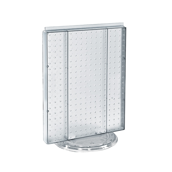 Rotating Counter Pegboard Retail Fixture Peg Display