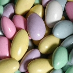 Colored Jordan Almonds - 30lbs