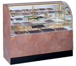 Climate Controlled Candy Display Case - Curved Front