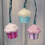 Cupcakes String Lights- 11ft
