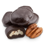Dark Chocolate Amaretto Pecans - 25lbs