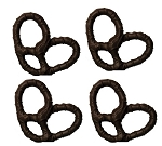 Dark Chocolate Deluxe Pretzels - 7lbs
