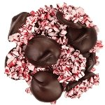 Dark Chocolate Peppermint Nonpareils - 6lb