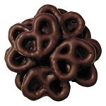 Dark Chocolate Mini Pretzels - 4lbs