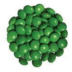 Dark Green Chocolate Gems -15lbs