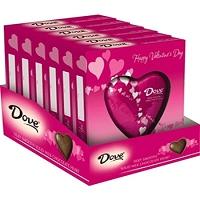 Dove Milk Chocolate Solid Heart  - 12ct
