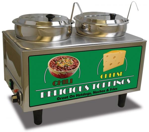Chili And Cheese Warmer Warming Dispenser Nacho Supplies