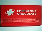 Emergency Dark Chocolate Bar - 10ct