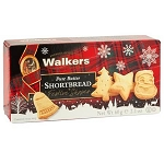 Festive Shaped Shortbread Cookies - 12ct