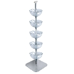 Five-Tiered 12in. Bowl Floor Display