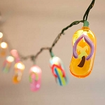 Flip Flop String Lights - 6ft