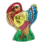 Foil Wrapped Chocolate Turkey - 2.5oz - 48ct
