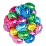 Dark Chocolate Wrapped Eggs - 10lbs