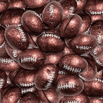 Foil Wrapped Footballs - 10lbs