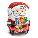 Foil Wrapped Milk Chocolate Santa - 48ct