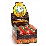 Foiled Semi-Solid Milk Chocolate Pumpkins - 48ct