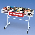 Folding Merchandising Table - 4ft - Color Choice