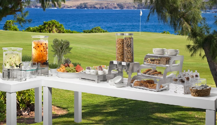 Buffet Table Displays