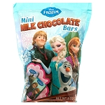 Frozen Mini Chocolate Bars Pouch  - 12ct