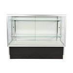 Black Wide Framed Full Vision Display Case - 48