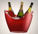 Red Wine Gondola Bucket - 4ct
