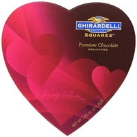 Ghirardelli Assorted Heart Box  - 12ct