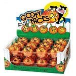 Goofy Faces Milk Chocolate Pumpkins -24ct