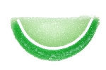 Green Apple Jelly Fruit Slices - 10lbs