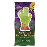 Gummy Zombie Hand Lollipop - 24ct