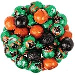 Halloween Milk Chocolate Balls - 10lbs