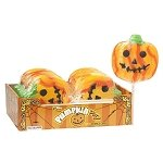 Halloween Pumpkin Face Pops - 12ct