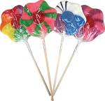 Flower Lollipops  - 12ct