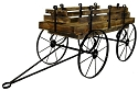 Hay Wagon Display - Treated Wood