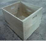 Heavy WF Bushel Crate - 3ct