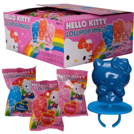 HELLO KITTY Lollipop Ring - 24ct