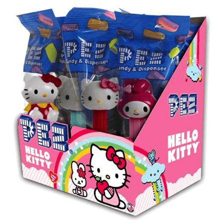 HELLO KITTY PEZ Dispensers  -12ct