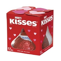 Hershey Giant Valentines Kisses - 24ct