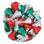 Hershey Kisses Christmas Mix - 4.16lbs