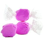 Hot Pink Salt Water Taffy- Cello Wrapped - 20lbs