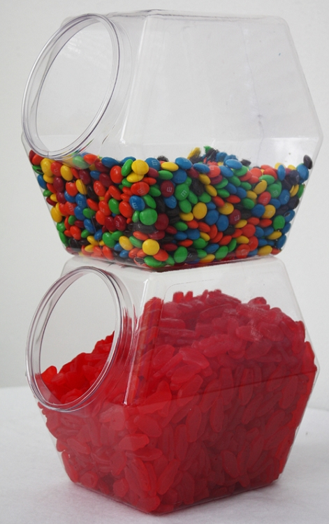 Hexagon Stacking Container Stackable Candy Jar Bins