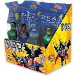 Justice League PEZ Dispensers  - 12ct