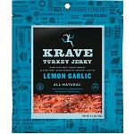 Lemon Garlic Turkey Jerky - 3.25oz. - 8ct