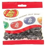 Licorice Jelly Belly Peg Bag  - 12ct