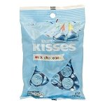 Light Blue Hershey Kisses Bag - 12ct