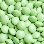 Light Green Chocolate Gems -15lbs
