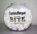 1 Gallon Logo Drum Style Fish Bowl - 125ct