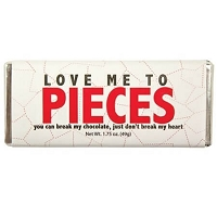 Love Me To Pieces Candy Bar - 24ct