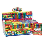 Magic Colors Bubble Gum Crayons - 24ct