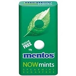 Mentos Now Spearmint Mints - 12ct