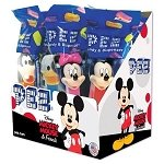 PEZ Disney Assorted Mickey Mouse Dispensers - 12ct